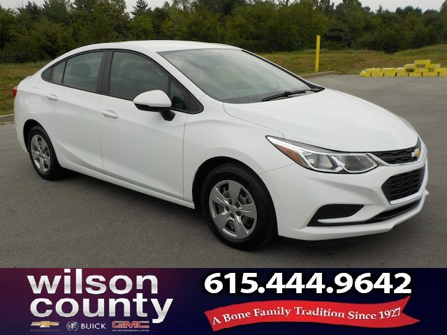Pre-Owned 2016 Chevrolet Cruze LT Manual