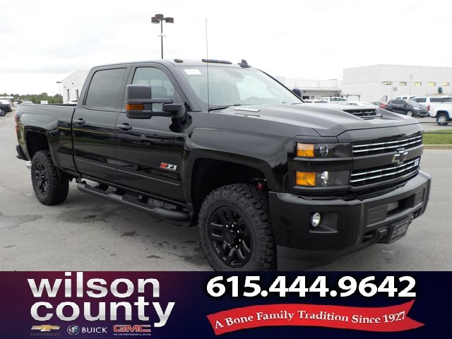 New 2019 Chevrolet Silverado 2500hd Crew Cab Ltz Z71 Midnight