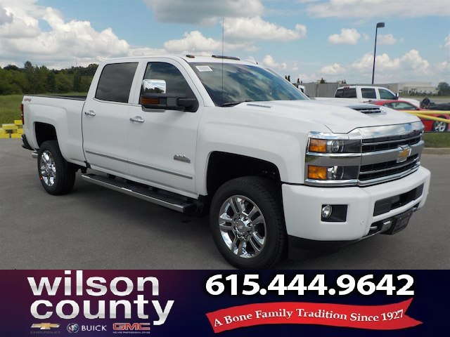 New 2019 Chevrolet Silverado 2500HD Crew Cab High Country SRW 4x4 Duramax