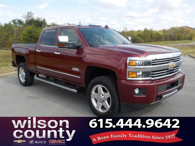 Pre-Owned 2015 Chevrolet Silverado 2500HD Moonroof,Chrome Wheels,Navigation