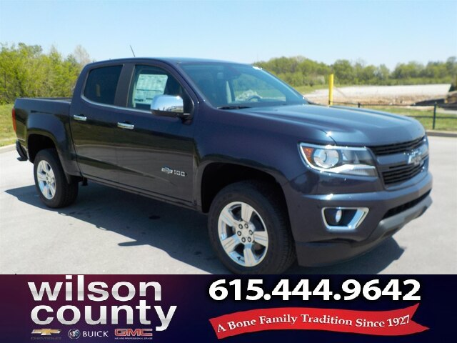 New 2018 Chevrolet Colorado Crew Cab 100TH Anniversary Demo Special
