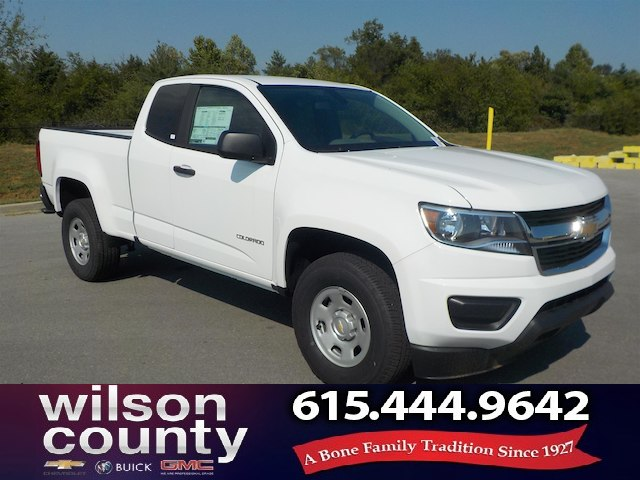 New 2018 Chevrolet Colorado Extended Cab Wt