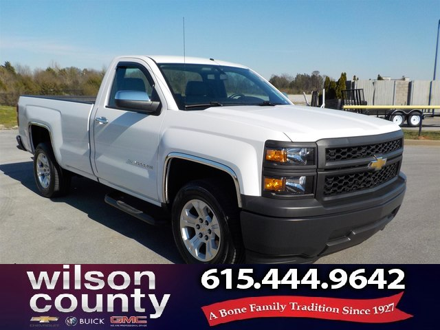 Pre-Owned 2015 Chevrolet Silverado 1500 WT 4x2, Automatic, Alloys