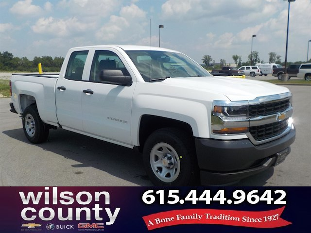 New 2018 Chevrolet Silverado 1500 Double Cab Wt 5 3l Demo Special