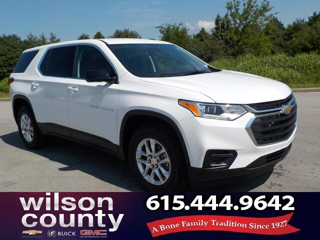 New 2020 Chevrolet Traverse Ls 4d Sport Utility In Lebanon 20t007
