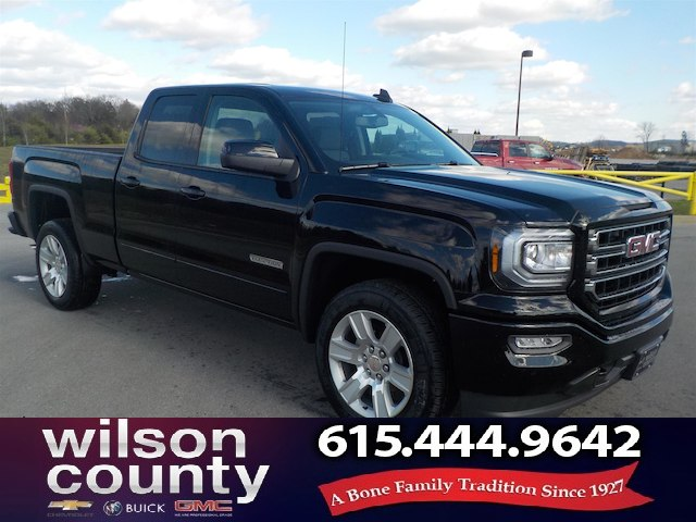 New 2018 GMC Sierra 1500 Double Cab 4x2 Elevation Edition