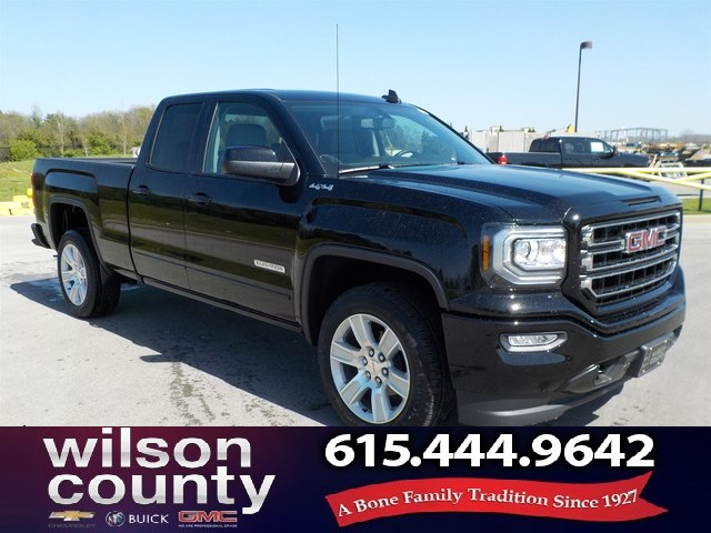 New 2018 GMC Sierra 1500 Double Cab Elevation Edition 4x4