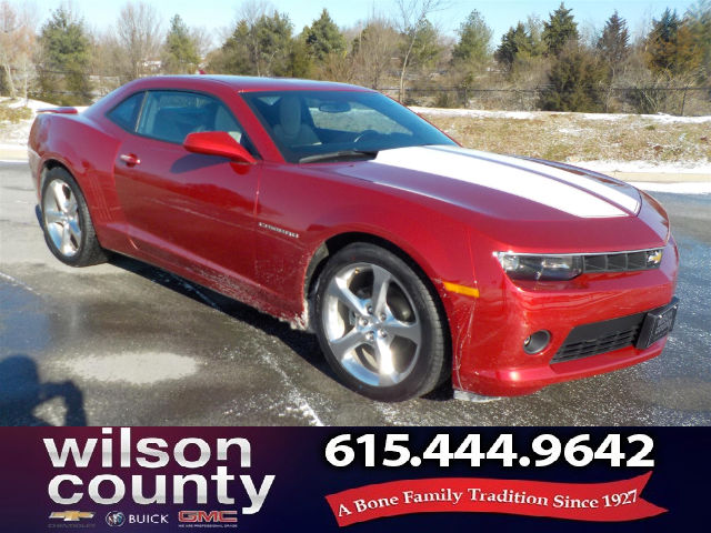 Pre Owned 2015 Chevrolet Camaro ONE OWNER CLEAN CARFAX 1LT RALLY SPORT  PACKAGE