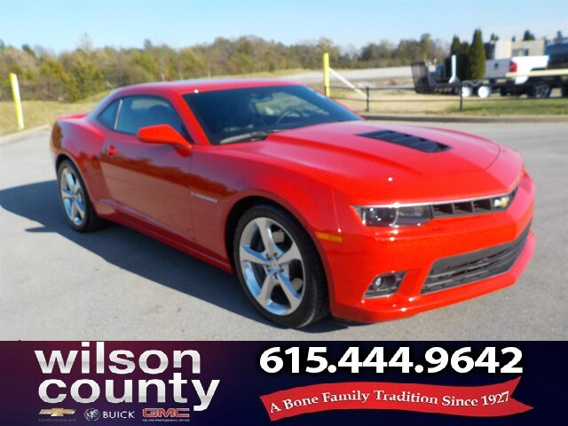Pre-Owned 2015 Chevrolet Camaro 2SS, Moonroof, Heads-Up,Great MIles!!