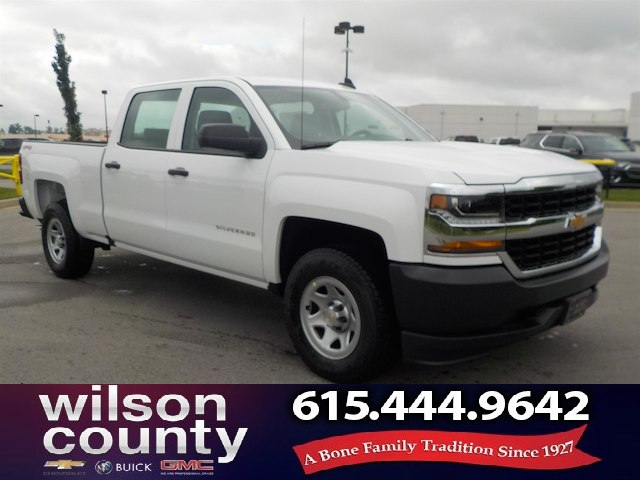 new 2017 chevrolet silverado 1500 crew cab wt 4x4 5 3l v8 truck in lebanon 17t596 wilson. Black Bedroom Furniture Sets. Home Design Ideas