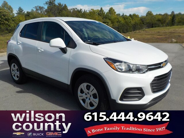 New 2019 Chevrolet Trax Ls Suv In Lebanon 19t083 Wilson County