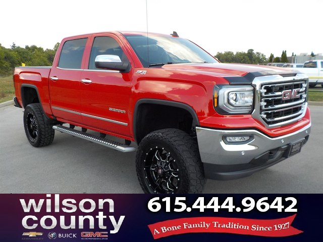 Pre Owned 2017 Gmc Sierra 1500 Crew Cab Slt Z71 4x4 1 Owner 6in Lift
