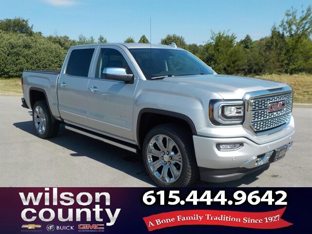 New 2018 GMC Sierra 1500 Crew Cab Denali Ultimate 6.2L V8
