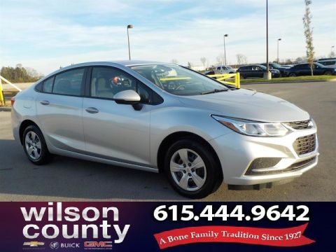 New 2018 Chevrolet Cruze LS Demo Special CTP