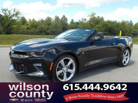New 2018 Chevrolet Camaro 2SS Convertible Demo
