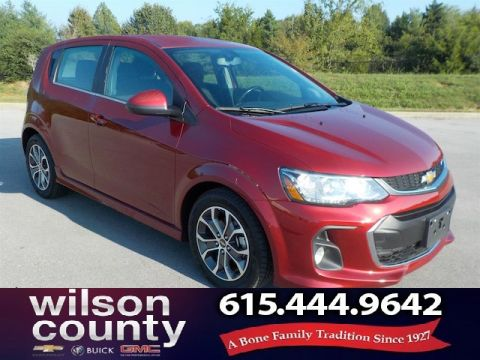 Pre-Owned 2017 Chevrolet Sonic LT Auto w/1SD