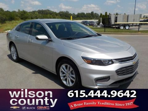 Pre-Owned 2018 Chevrolet Malibu LT, Alloys,Clean-Carfax