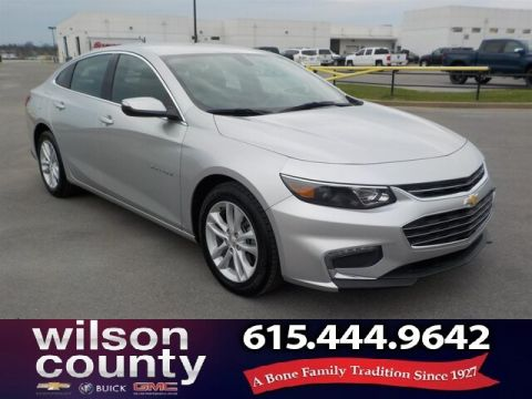 Pre-Owned 2018 Chevrolet Malibu LT, 1 Owner, Clean Auto-Check