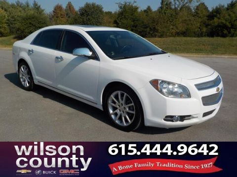 Pre-Owned 2011 Chevrolet Malibu LTZ, Moonroof, Alloys, Leather