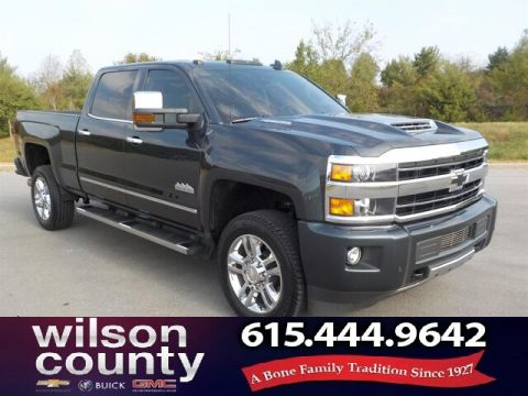 Pre-Owned 2018 Chevrolet Silverado 2500HD High Country,Moonroof,Navigation