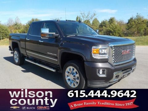 Pre-Owned 2016 GMC Sierra 2500HD Denali,Navigation,Moonroof,Tonneau Cover