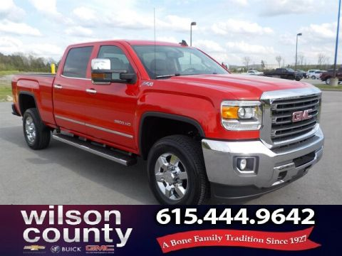 Pre-Owned 2016 GMC Sierra 3500HD SLT,Z71, Leather, 6.0L