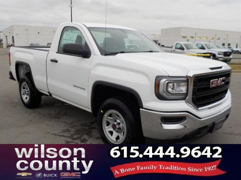 New 2018 GMC Sierra 1500 Regular Cab 4x2 5.3L V8
