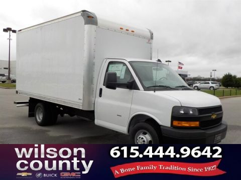New 2018 Chevrolet Express Cutaway Work Van 12' Supreme Body 6.0L