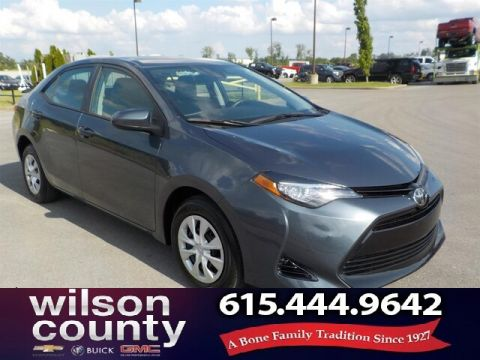 Pre-Owned 2017 Toyota Corolla Auto, Back-up Camera