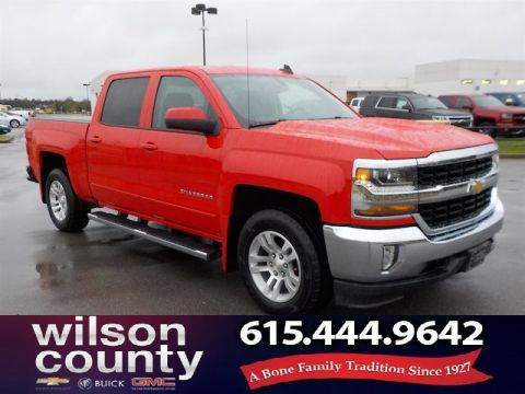 Pre-Owned 2018 Chevrolet Silverado 1500 Crew Cab 1LT 4x4 1 Owner