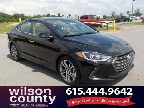Pre-Owned 2017 Hyundai Elantra Limited,Aloys,Back-up Camera,Auto
