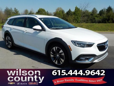 New 2018 Buick Regal TourX Essence All-Wheel-Drive Demo Special